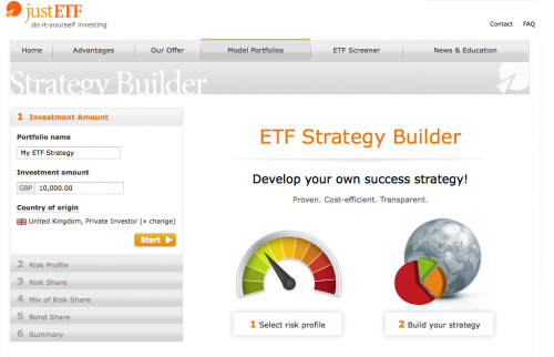 The best free asset allocation tool