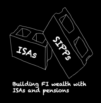 How much wealth do I need in my ISA versus my SIPP to achieve financial independence? post image
